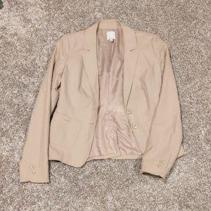 Women's tan Halogen blazer/jacket size 2